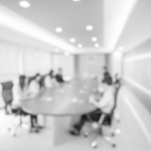 conference room during mediation