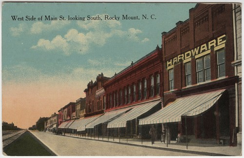 Main Street. Rocky Mounty, N.C. Early 1900s.